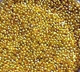 Mini Nailart Perlen Gold